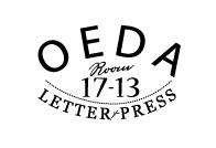 大枝活版室 OEDA LETTER PRESS ||大阪||